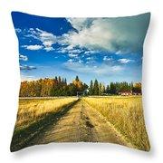 Big Creek Ranch Throw Pillow