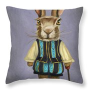 Big Ears 2 Throw Pillow