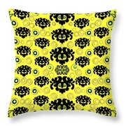 Big Eyes In The Wood Throw Pillow