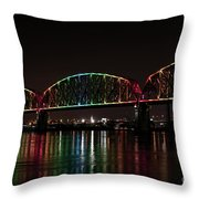 Big Four Bridge 2215 Throw Pillow