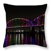 Big Four Bridge 2219 Throw Pillow