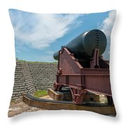 Big Gun Tracks Throw Pillow