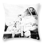 Big Guns II Throw Pillow