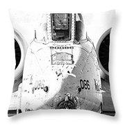 Big Guns IIi Throw Pillow