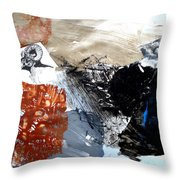 Big Horn At Home Throw Pillow