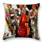 Big Jazz Throw Pillow
