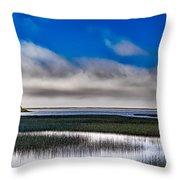 Big Lagoon Park California Throw Pillow