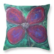 Big Love Poppy Throw Pillow