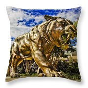 Big Mike Throw Pillow
