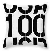 Big Money 100 Usd Throw Pillow