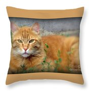 Big O Throw Pillow