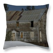 Big Old House Throw Pillow