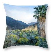 Big Palm Throw Pillow