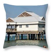 Big Pier 60 Throw Pillow