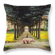 Big Pig - Pistoia -tuscany Throw Pillow