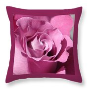 Big Pink Throw Pillow