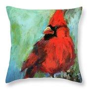 Big Red Throw Pillow