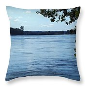 Big River Throw Pillow