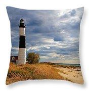 Big Sable Lighthouse #2 Throw Pillow