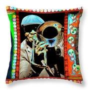 Big Sam's Voodoo Throw Pillow