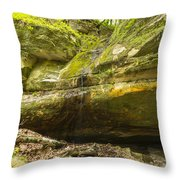 Big Sand Cave 1 Throw Pillow