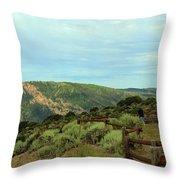 Big Skies Of Colorado Throw Pillow