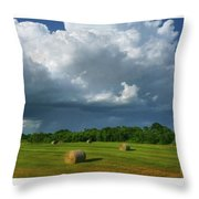 Big Sky-brief Shower Throw Pillow