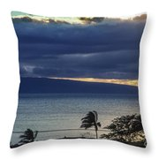 Over Molokai Throw Pillow