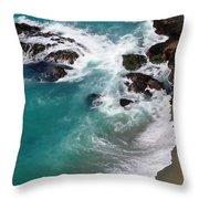 Big Sur Foam Throw Pillow