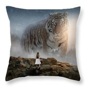 Big Tiger Throw Pillow