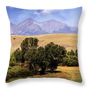 Big Timber Canyon 2 Throw Pillow