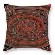 Big Tree Abstract  Throw Pillow