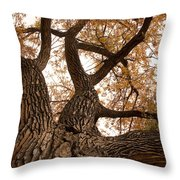 Big Tree Throw Pillow