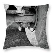Big Ole Wheel Throw Pillow