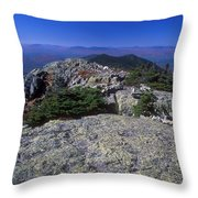Bigelow Mountain Ridge Throw Pillow