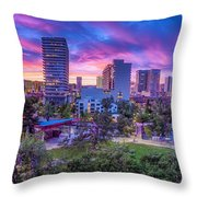 Biggest Little Sunset Throw Pillow