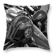 Bike Gaggle Throw Pillow