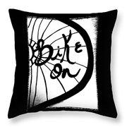 Bike On Throw Pillow