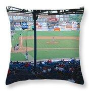 Bill Meyer Stadium, Aa Southern League Throw Pillow