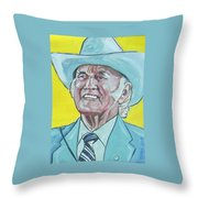 Bill Monroe Throw Pillow