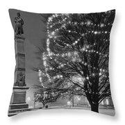 Billerica Common 004 Throw Pillow