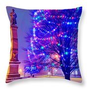 Billerica Common 005 Throw Pillow