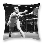 Billie Jean King Throw Pillow