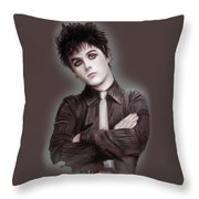 Billie Joe Armstrong Throw Pillow