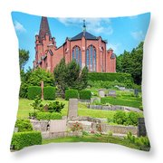Billinge Church Throw Pillow