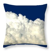 Billowing Clouds 4 Throw Pillow