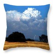 Billowing Thunderhead Throw Pillow by Frank Wilson