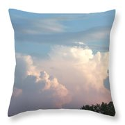 Billows 2 Throw Pillow