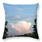 Billows Throw Pillow