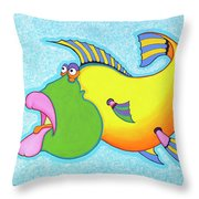 Billy Bass Throw Pillow